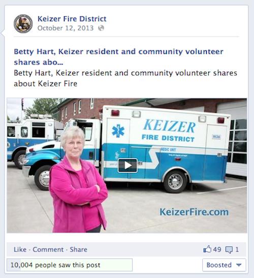 Betty Video Keizer Fire