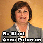 Re-Elect Anna Peterson